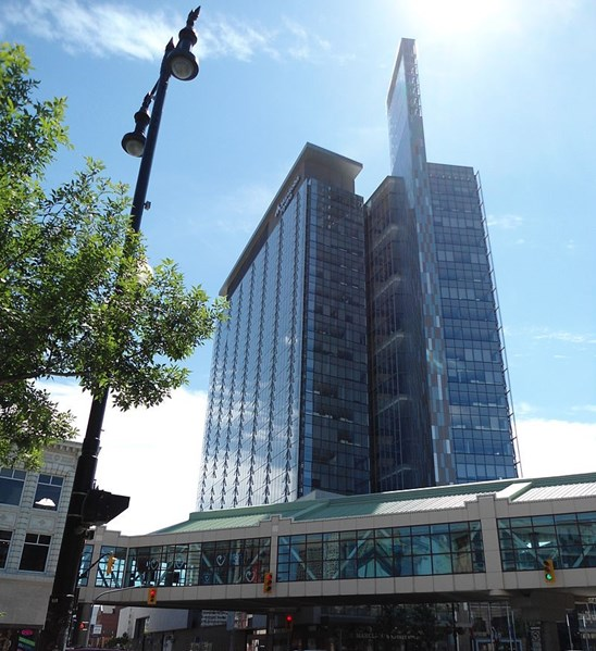 Manitoba Hydro Place - Interlaker