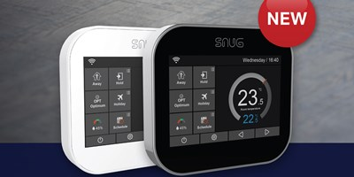 Snug Underfloor Heating Two Channel Controller and SnugStat Duo launch